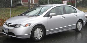 2006-2008 Honda Civic Hybrid photographed in C...