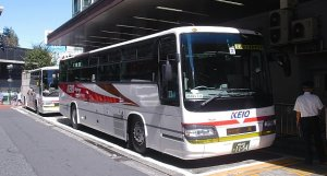 luxurious buses and cars